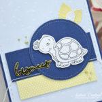 Carte : Hello Friend Turtle