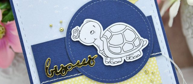 Carte : Hello Friend Turtle