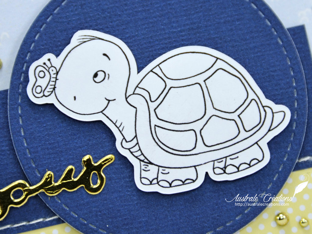 Carte Hello Turtle Friend