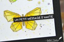 Carte : Message d'Amitié