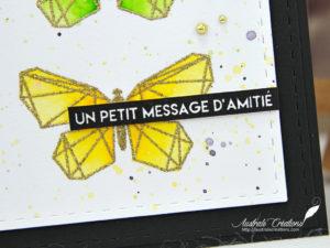 Carte Message d'amitié