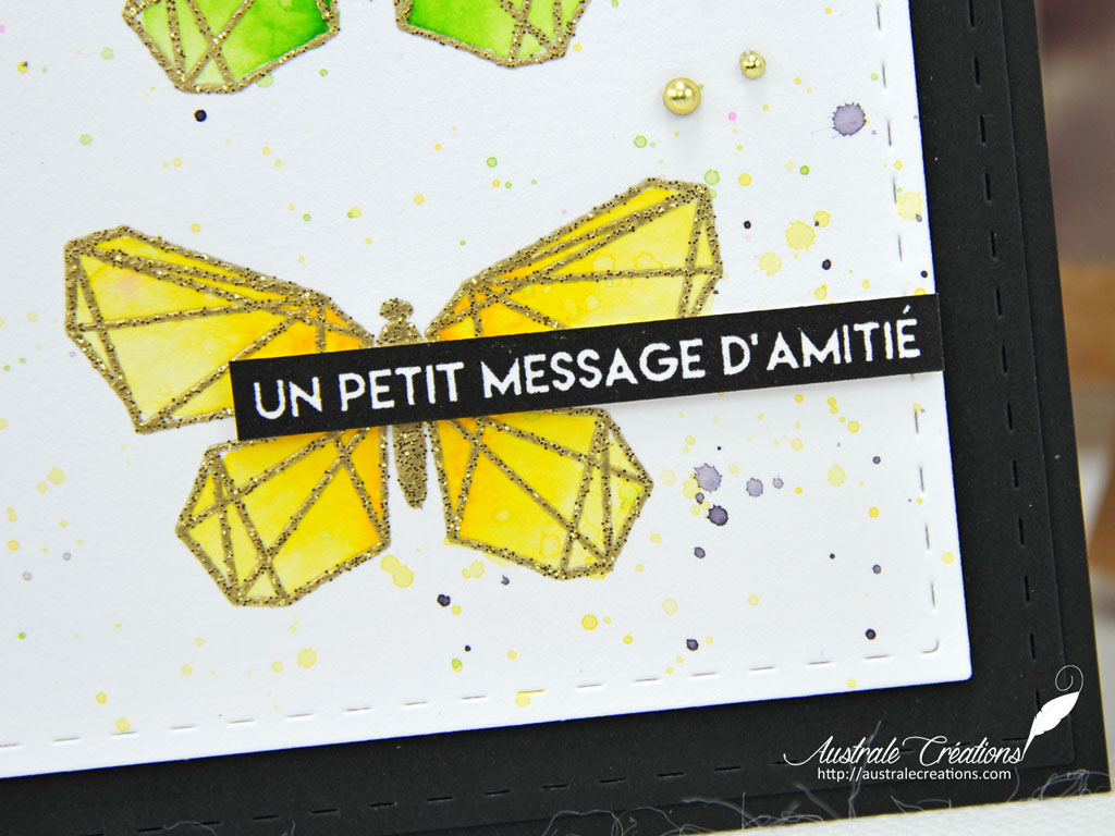 Carte Message d'amitié