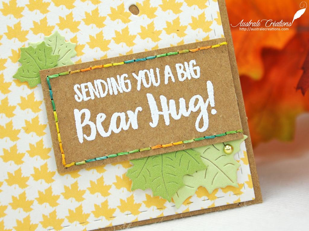 GSD Carte Bear Hug