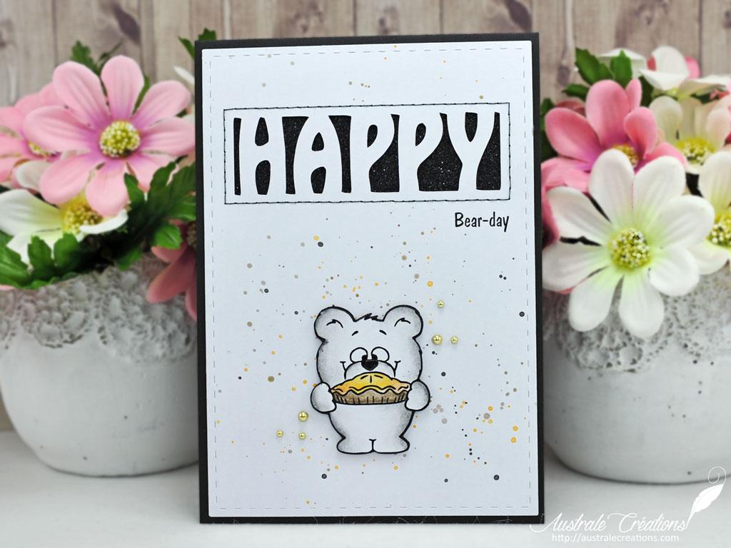 GSD Carte Happy Bear-Day