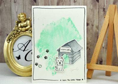 Carte Happy Life par Sandelsa