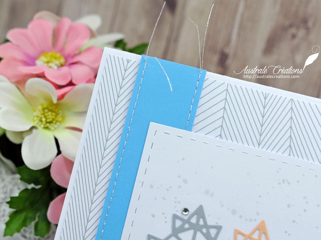 Carte Feuilles Origami