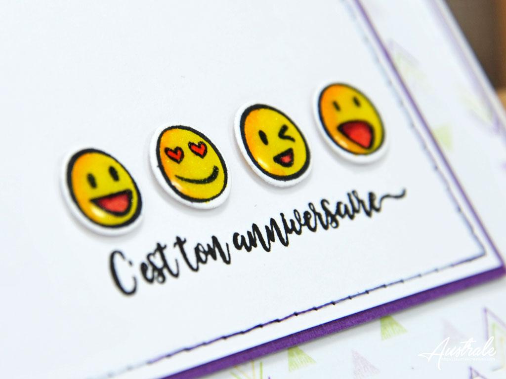 Carte Happy Faces