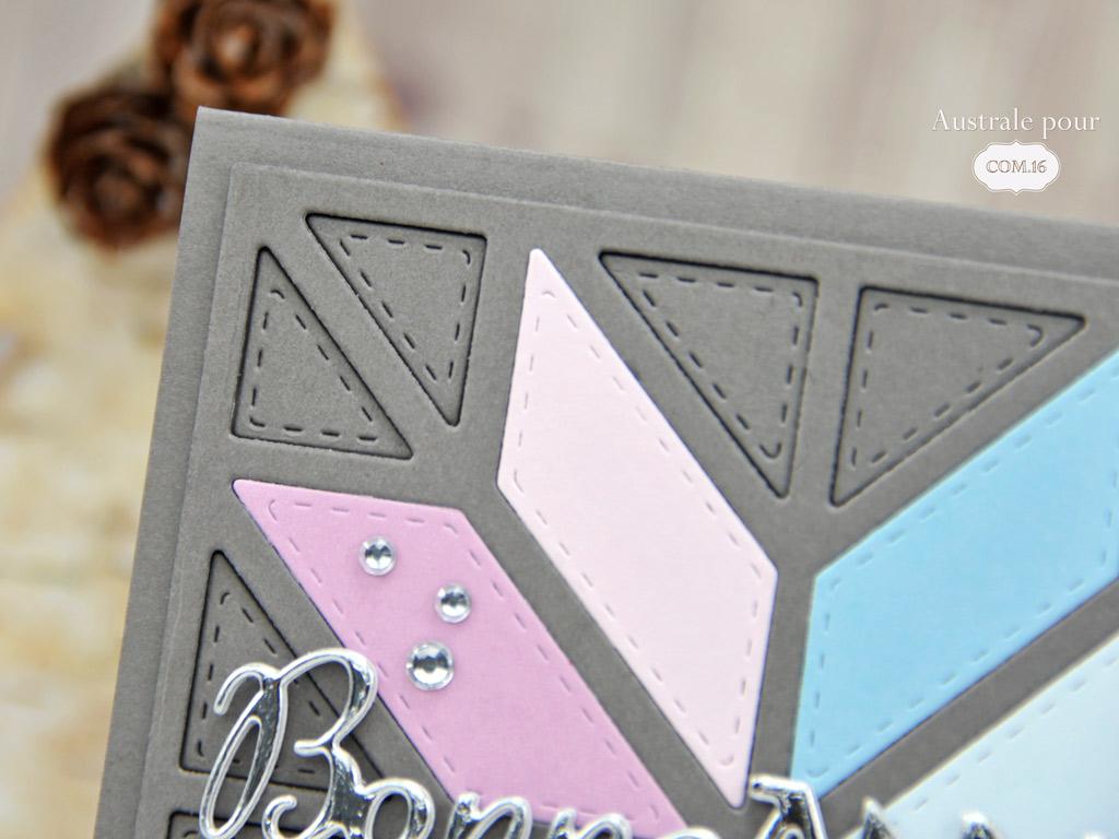 Com16 Cartes de voeux patchwork
