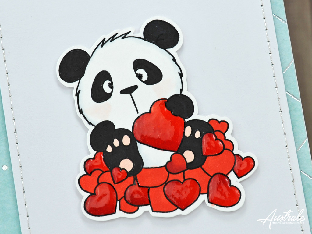 Duo Panda in love