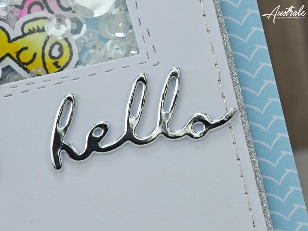 Gerda Steiner Designs Carte Hello Manatee