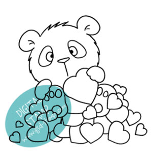 GSD-panda-in-love