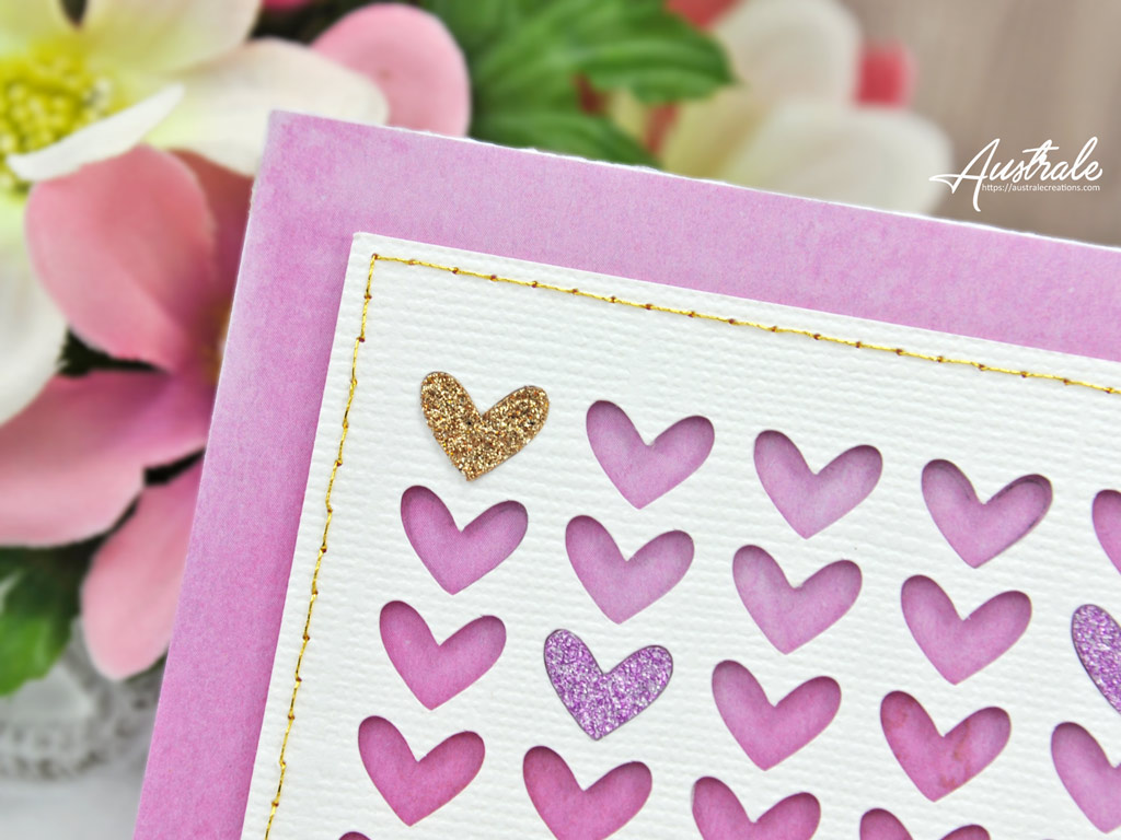 Carte Des petits coeurs Juste pour toi