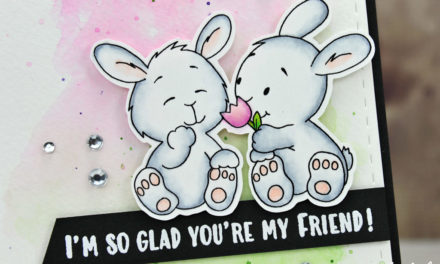 Carte : Spring Bunny Friends