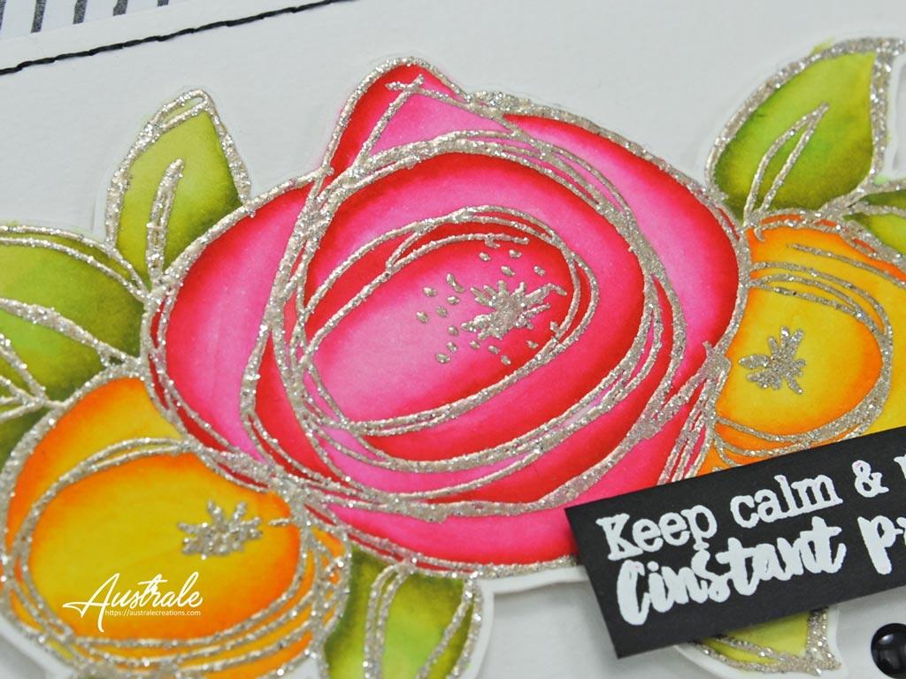 Carte La vie en roses