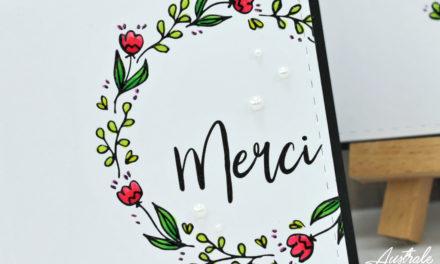 Cartes : Doodle Wreath