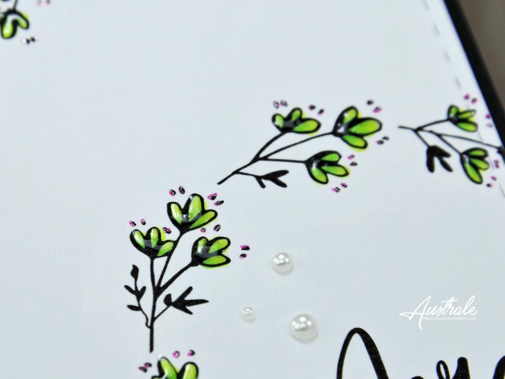 Cartes Doodle Wreath