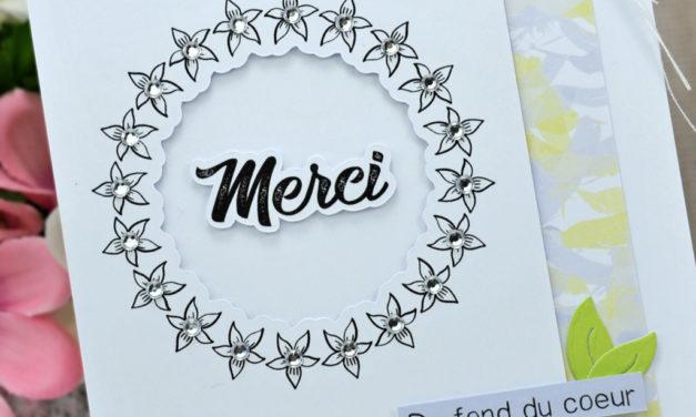 Com16 : Duo de cartes de remerciements