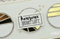 Simply Graphic : Cercles d'anniversaire