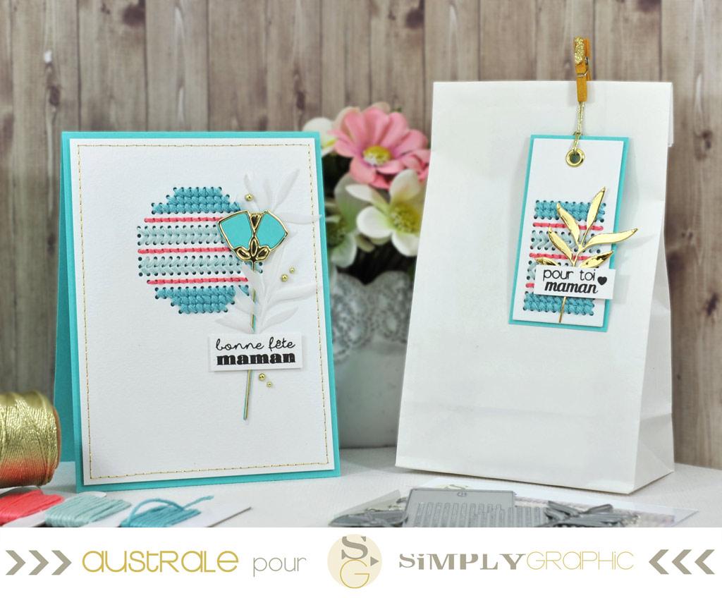 Simply Graphic Duo Bonne fête maman
