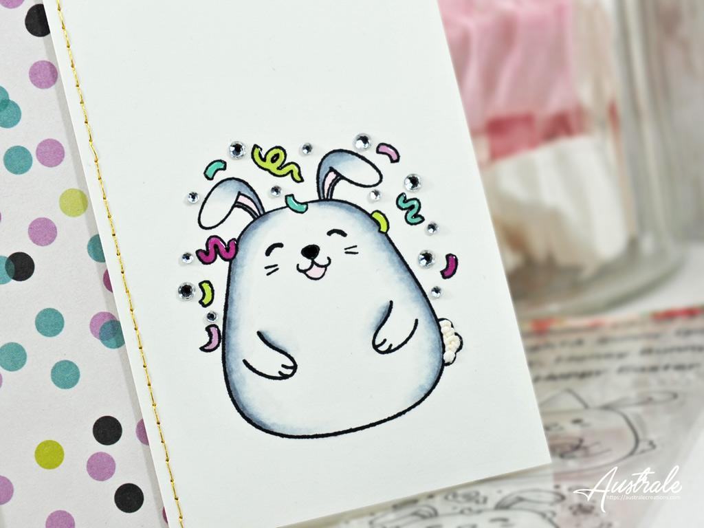 Carte Joyeux Bunnyversaire