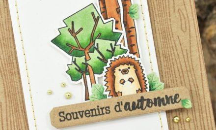 4enscrap : Promenons-nous dans les bois !