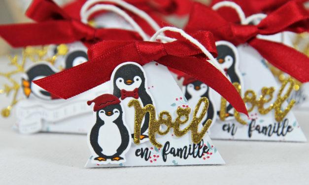 4enscrap : Décorations de table pour Noël