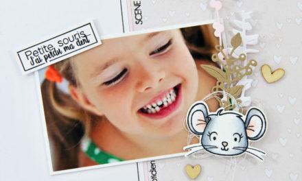 4enscrap : Mini Collection d'Hiver Jour 1
