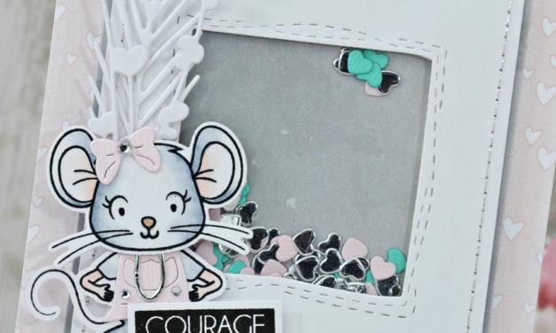 4enscrap : Mini Collection d'Hiver Jour 2