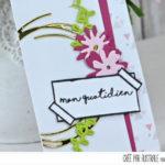 4enscrap : Les Petits Ateliers de Version Scrap <br> «Marque-Page Magnétique»