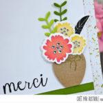 4enscrap : Un, deux, trois… bouquets !