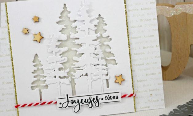 4enscrap : Les Petits Ateliers d'Hiver « Joyeuses Fêtes »
