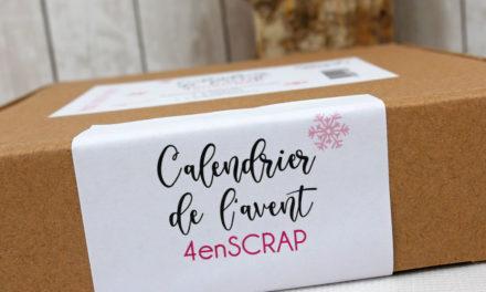 4enscrap : Les petits ateliers d'Hiver et </br> Le calendrier de l'Avent !