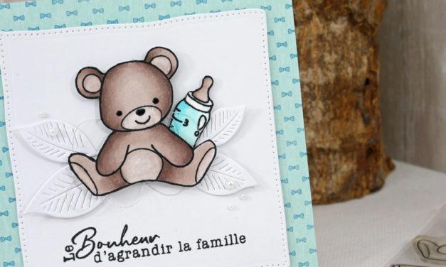 Carte : Le bonheur d'agrandir la famille
