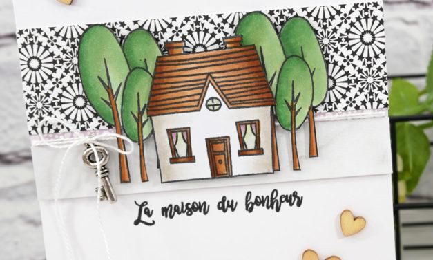 Carte : La maison du bonheur