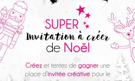 4enscrap : La super invitation à créer de Noël !