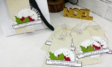 Etiquettes pour cadeaux de fin d'année