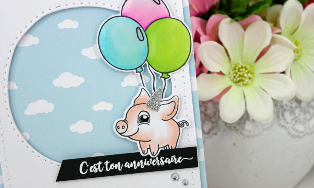 Carte : Piggy Pig Birthday