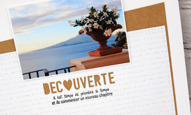 4enscrap : Avant Première Collection Printemps 2020 Jour 5