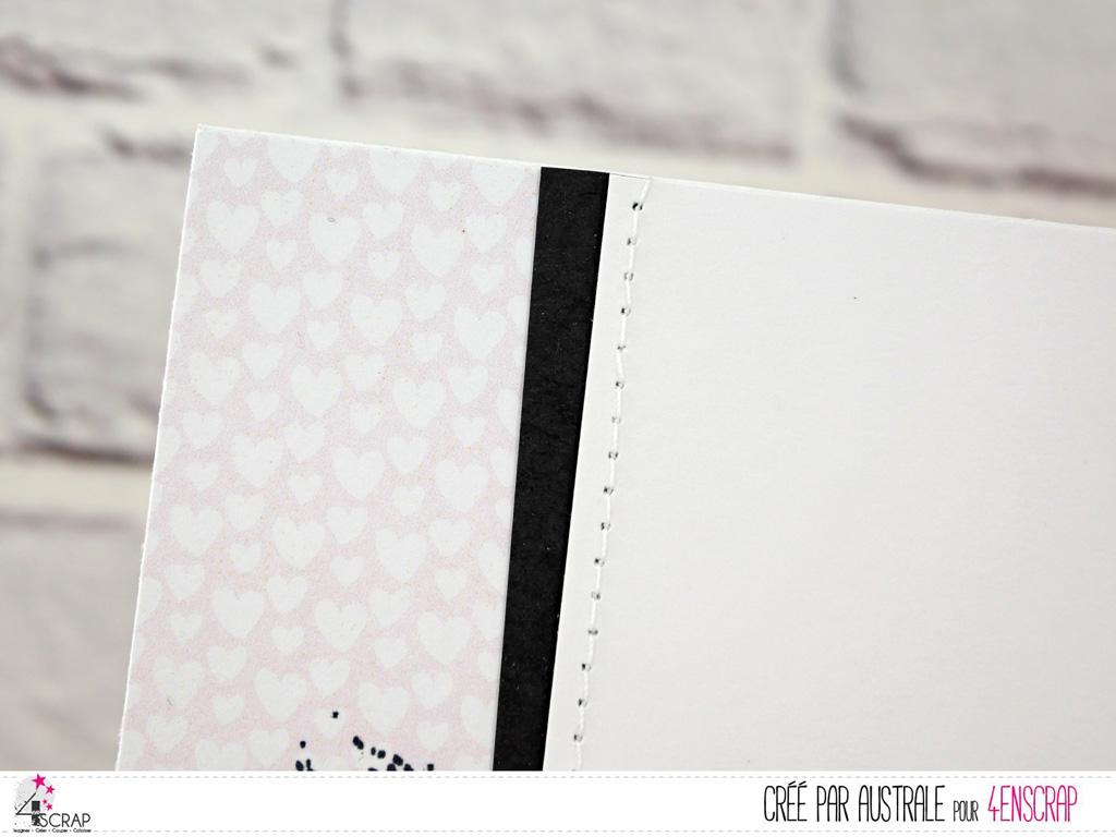 Cartes pour toutes occasions en blanc, rose, vert et une touche de gris anthracite avec de jolies roses, feuillages et couronne.
