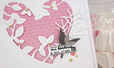 4enscrap : Mini collection Saint Valentin Jour 1