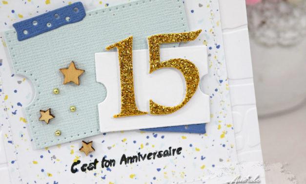 Carte : C'est ton anniversaire
