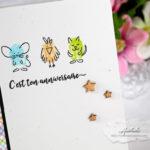 Cartes : Fingerprint Doodles