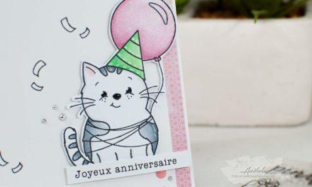 Carte : Purrfect Birthday