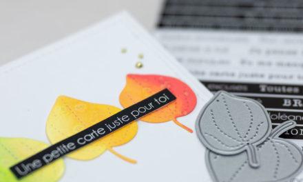 4enscrap : Inspiration Feuilles d'automne de Julie